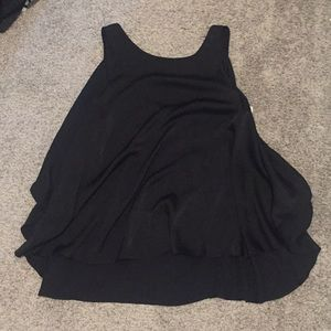 Bcbg maxazria Black tank xs fits loosely